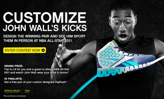 Think you ve got what it takes to design a colorway of the Reebok Zig Slash  for John Wall  97a45c6ded