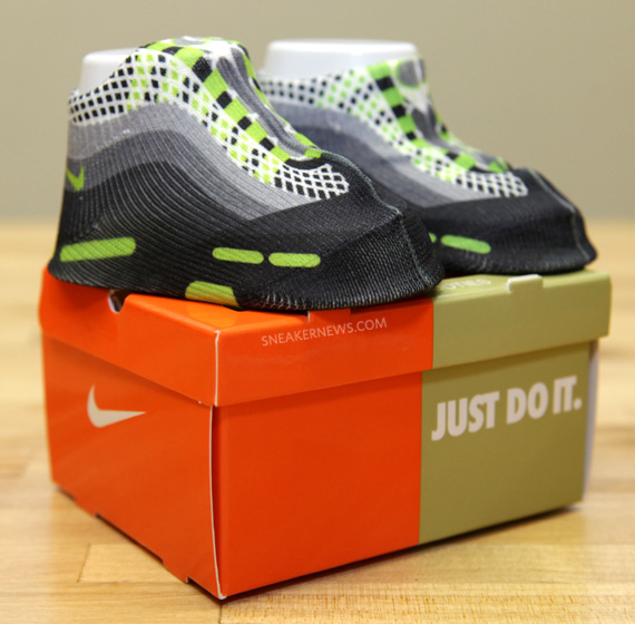 Air Max 95 Neon - Baby Sneaker Socks