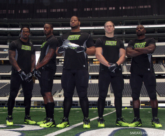 Back in October, it was announced that Nike will become the NFL\u0027s official  uniform provider beginning in 2012, but outfitting football players with  the ...