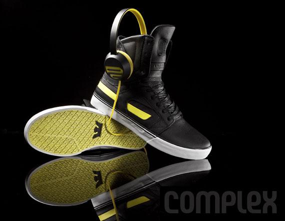 833b9433be Sony Piiq x Supra Skytop II - SneakerNews.com