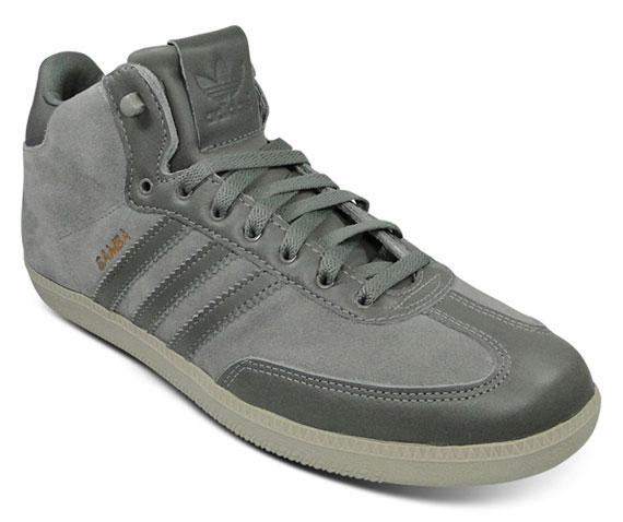 adidas Samba Mid Winterized – Grey