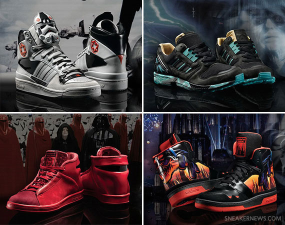 online store a77f7 6b4cd Each of its drops a success so far, the Star Wars x adidas Originals  collaboration will continue into 2011.