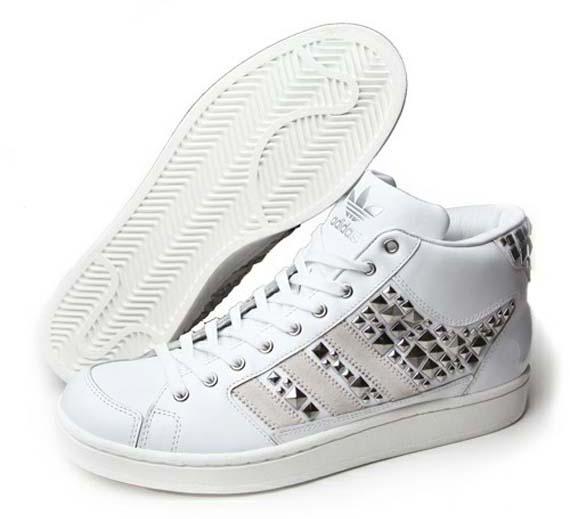 eea24ef06c26 durable service adidas Originals Superskate Mid White Studded ...