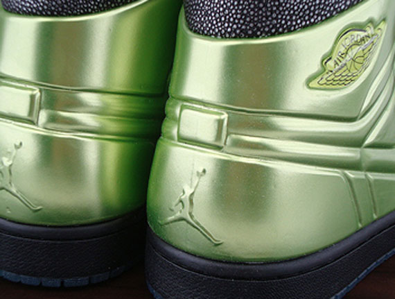 reputable site f8f2d a1ffc Air Jordan 1 Anodized – Altitude Green   Available on eBay ...