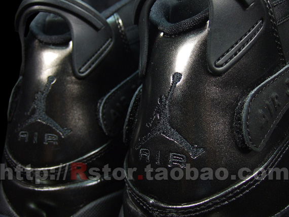 jordan 6 rings black dark charcoal