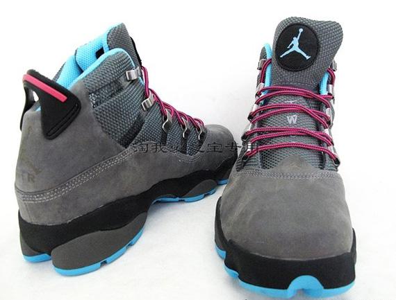 Air Jordan Six Rings Winterized \\u2013 Cool Grey \\u2013 Chlorine Blue - SneakerNews.