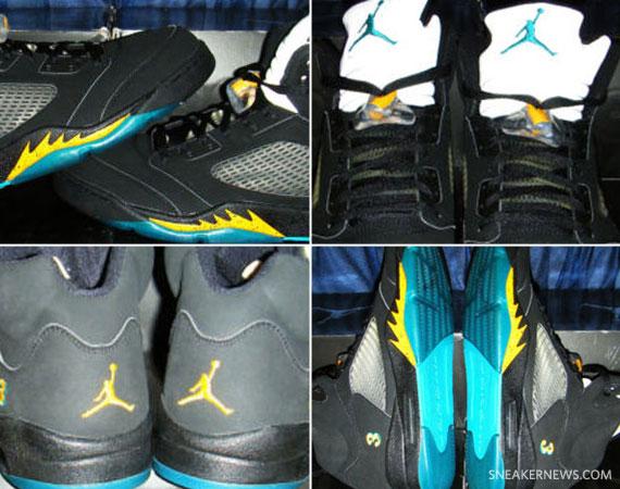 Air Jordan V – Chris Paul Hornets Away PE - SneakerNews.com 06b283dfc9b4