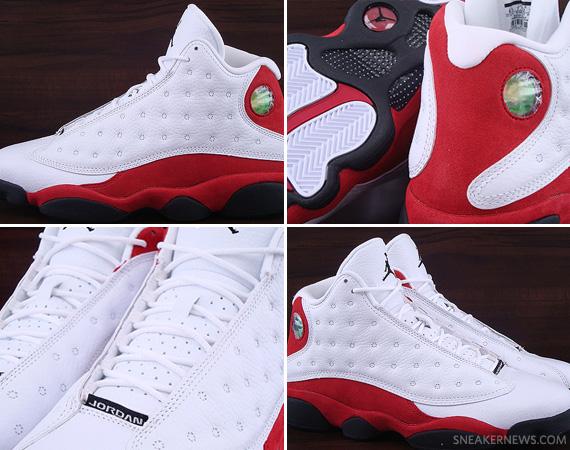 5bd8ee1f69699b ... 50%OFF Air Jordan 13 Retro White Varsity Red Available on eBay ...