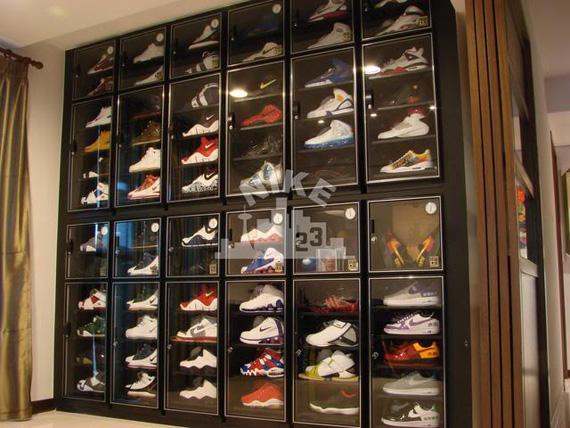 Nike Shoe Closet Storage