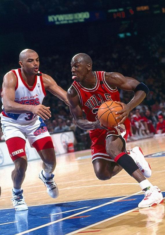 huge selection of 6d617 0c902 Michael Jordan Through The Years: Air Jordan VII ...