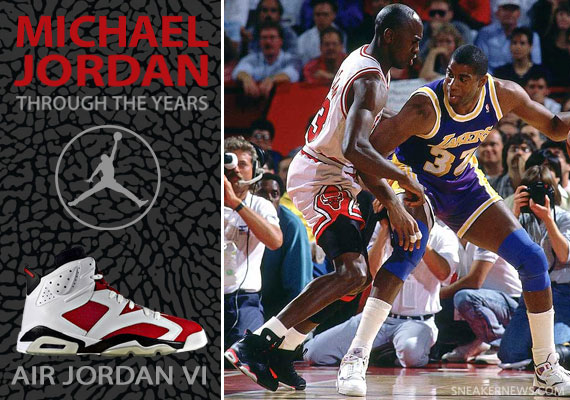 new product 0a0d2 0c4ee Michael Jordan Through The Years: Air Jordan VI ...