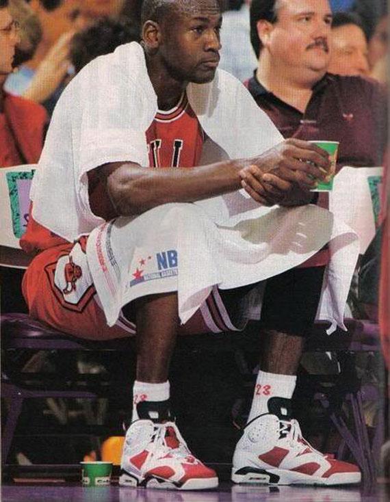 new product 4bc0a e0517 Michael Jordan Through The Years: Air Jordan VI ...