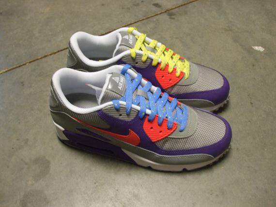 Nike ACG AIR MAX 90 BLACKVIBRANT BLUEROYAL BLUE SoRaspy