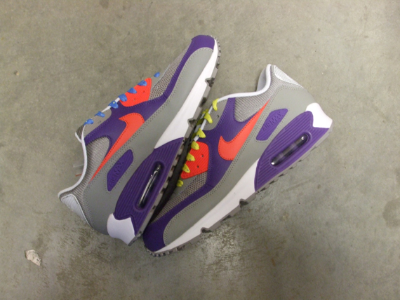 brand new 3d934 807b9 Nike Air Max 90   ACG Pack   Medium Grey Alarming Red Varsity Purple