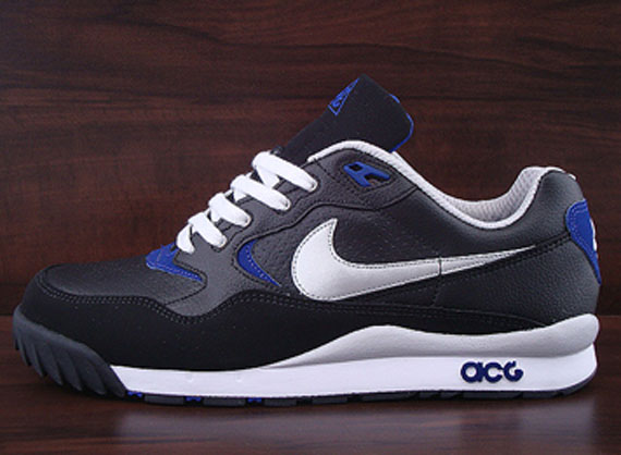 costilla maldición Celsius  Nike ACG Air Wildwood – Black – Metallic Silver – Concord - SneakerNews.com