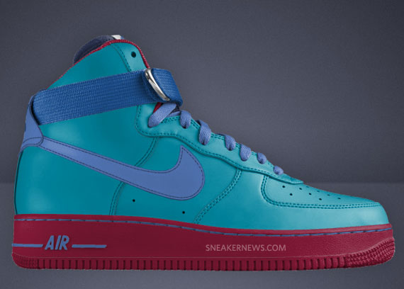 Nike Air Force 1 Low + High Available on Nike iD