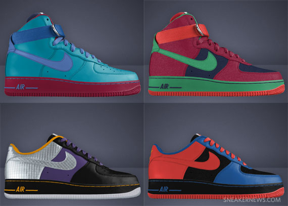 nike air force 1 low nike id shoes