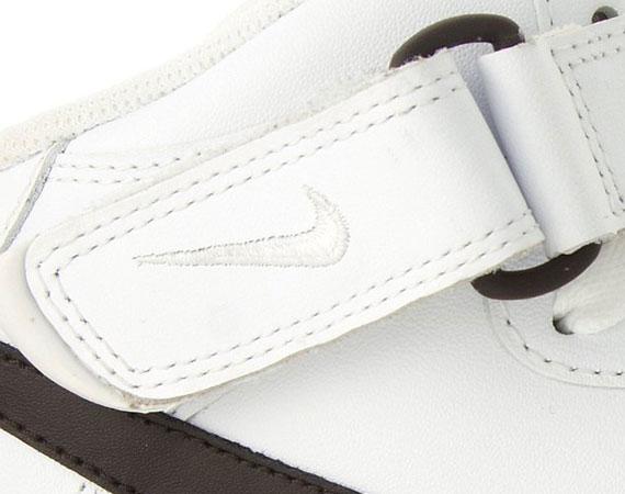 Nike Air Force 1 Mid '07 LE – White – Brown – Gum