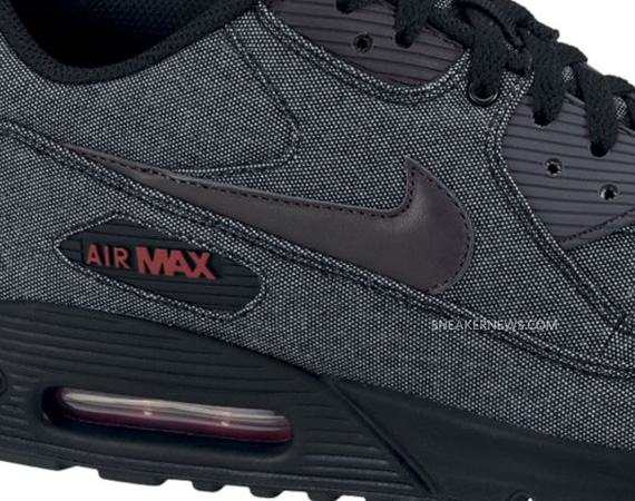 new concept ce4e9 7c521 Nike Air Max 90 – Black – Dark Shadow | Spring 2011 - SneakerNews.com