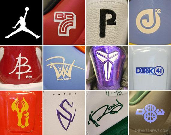 Basketball Shoes Brands Logos