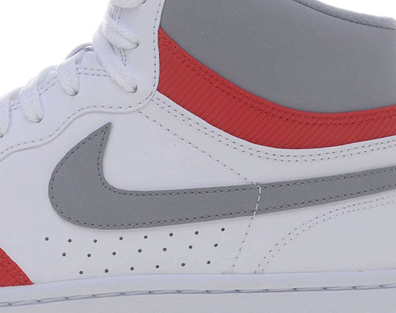 sports shoes 5911d f8f10 Nike Court Force High – White – Stealth – Sport Red