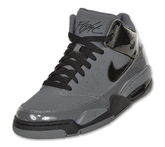 low priced 96c41 8db9d hot sale Nike Air Flight Classic Grey Black