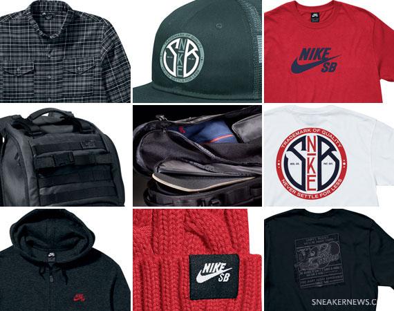 Nike SB Apparel January 2011 Collection