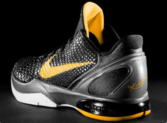Nike Zoom Kobe VI - Black - Del Sol