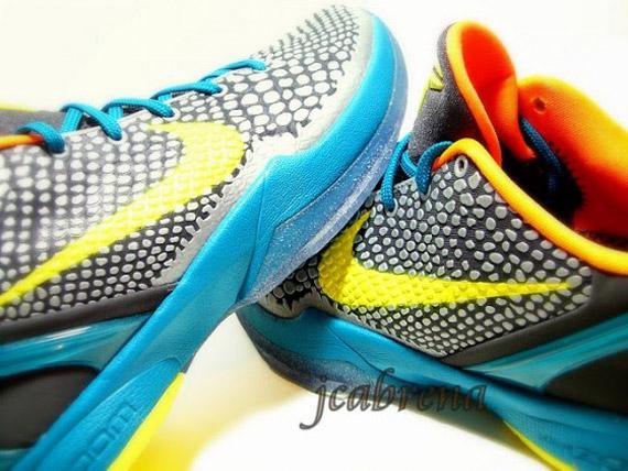 ea23bbdbec15 Nike Zoom Kobe 6  Glass Blue  – New Photos - SneakerNews.com