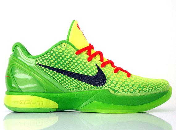 zoom kobe 6 grinch for sale Nike ...