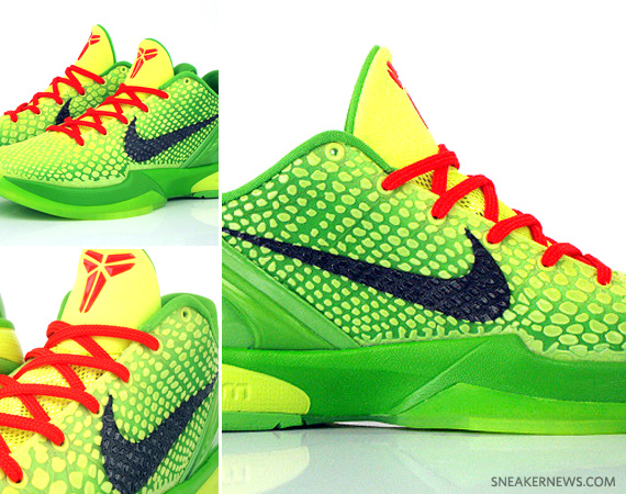 new arrival c6705 8f7c5 Nike Zoom Kobe VI  Grinch  – Available Early on eBay - SneakerNews.com