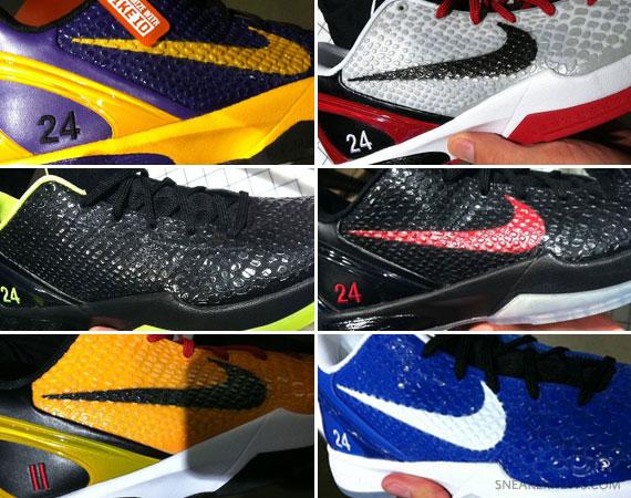 Nike Zoom Kobe VI iD – Finished Samples