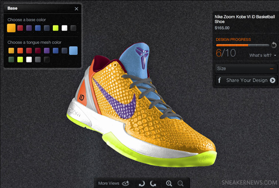 Nike Zoom Kobe VI iD Preview