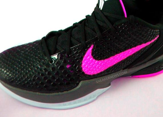 Nike Zoom Kobe VI ??Think Pink?? Sneak Peek