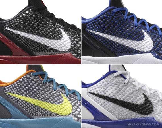 premium selection ee70a 3ea6f Nike Zoom Kobe VI – Upcoming Release Info