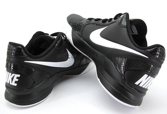 Nike Basketball Shoes Low Cut Black