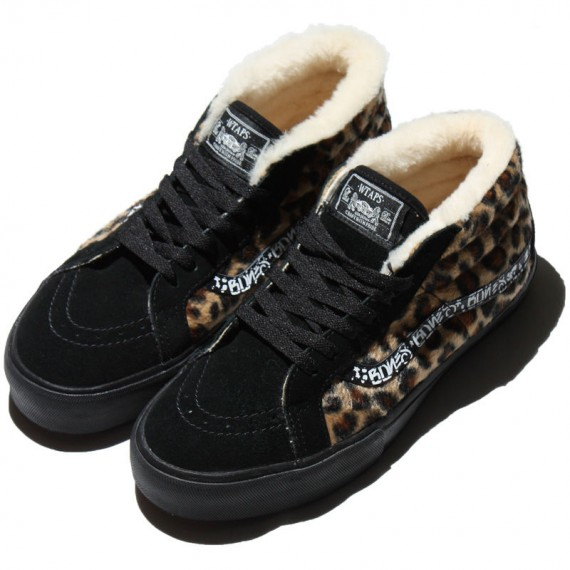 729f7464f83826 WTAPS x Vans Syndicate Sk8-Mid Leopard Sherpa - SneakerNews.com