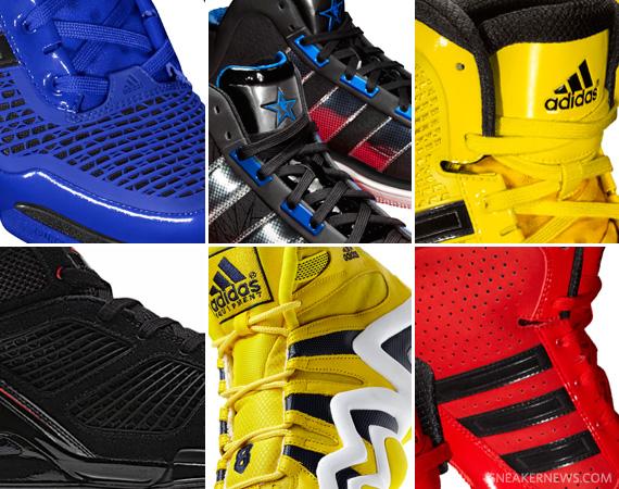 the best attitude b3e35 e3dea adidas Basketball 2011 All-Star Footwear Collection
