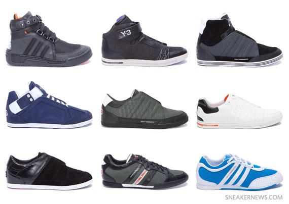 ef8ace3b0fad Yohji Yamamoto x adidas Y-3 Spring Summer 2011 Footwear Collection ...