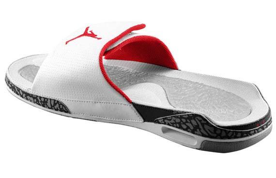 a6417d9b9 jordan retro 3 hydro slide sandals Sale