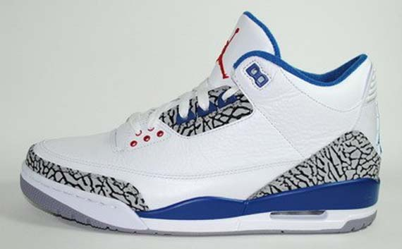Air Jordan 3 Retro True Blue Ebay NEBvy