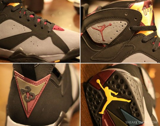 Air Jordan VII 'Bordeaux' – New Images