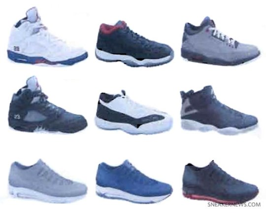 Jordan Brand Fall 2011 Footwear Preview