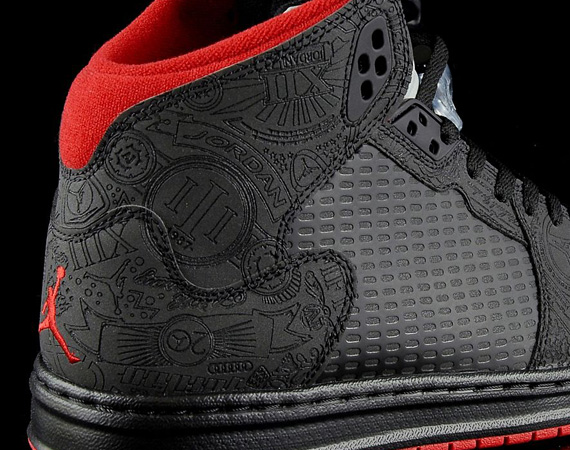 competitive price 59d01 8ee64 Air Jordan Prime 5 Laser – Black – Varsity Red   Available
