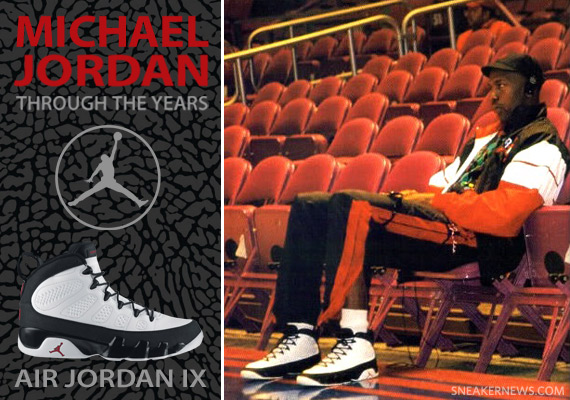 1543505c6db Michael Jordan Through The Years  Air Jordan IX - SneakerNews.com
