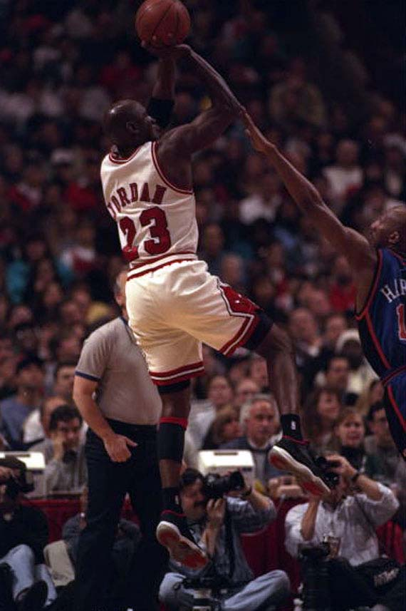 32759a461ef3 Michael Jordan Through The Years  Air Jordan XI - Part 2 ...