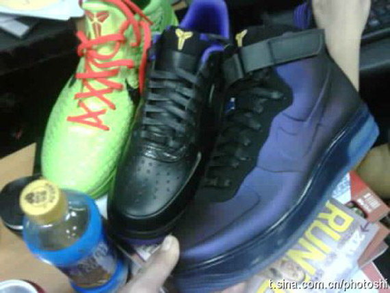 Nike Air Force 1 Foamposite 'Eggplant