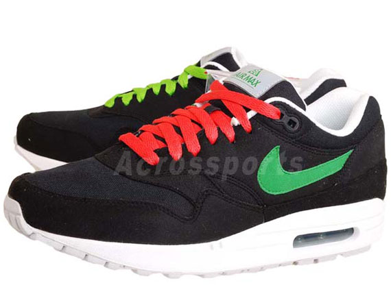 Nike Air Max 1 'ACG Pack' – Black – Victory Green