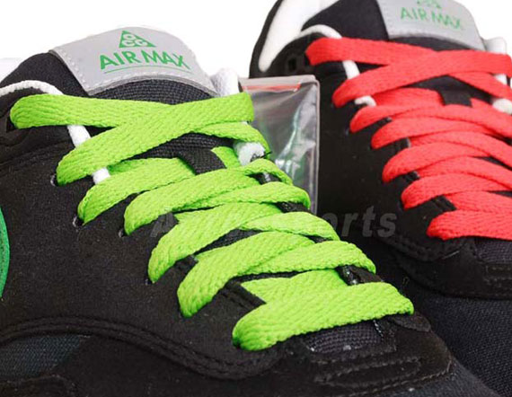 e3faf60aed Nike Air Max 1 'ACG Pack' – Black – Victory Green | Available ...