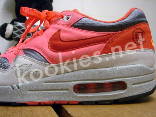 Nike Air Max 1 Powerwall Pink (by Alexander – Sweetsoles